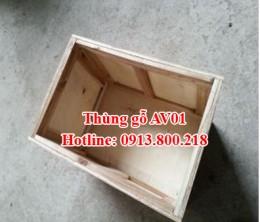 Thùng gỗ An Việt 02