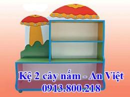 Kệ 2 cây nấm An Việt
