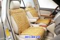 Đệm ghế ôtô gỗ pơ mu - rỗng